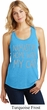 Yoga Namastay Home with My Cat Ladies Racerback Tank Top