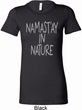 Yoga Namastay in Nature Ladies Longer Length Shirt