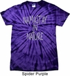 Yoga Namastay in Nature Spider Tie Dye Shirt