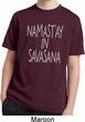 Yoga Namastay in Savasana Kids Moisture Wicking Shirt
