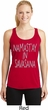 Yoga Namastay in Savasana Ladies Dry Wicking Racerback Tank Top