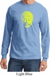 Yoga Neon Yellow Buddha Long Sleeve Shirt