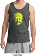 Yoga Neon Yellow Buddha Tank Top