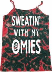 Yoga Omies Ladies Tie Dye Camisole Tank Top