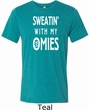 Yoga Omies Mens Tri Blend Crewneck Shirt