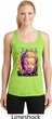 Yoga Psychedelic Buddha Ladies Dry Wicking Racerback Tank Top