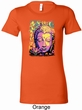 Yoga Psychedelic Buddha Ladies Longer Length Shirt