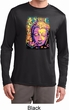 Yoga Psychedelic Buddha Mens Moisture Wicking Long Sleeve Shirt