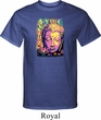 Yoga Psychedelic Buddha Mens Tall Shirt