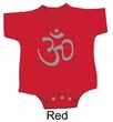 Yoga Romper Aum Symbol Meditation Infant Baby Creeper