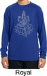 Yoga Tara Sketch Kids Dry Wicking Long Sleeve Shirt