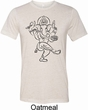 Yoga Tee Black Sketch Ganesha Tri Blend Tee