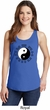 Yoga Ying Yang Trigrams Ladies Tank Top