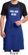 You Are Here Full Length Apron with Pockets