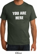 You Are Here Organic Shirt