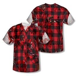 Zombie Hipster Zombie Sublimation Shirt Front/Back Print