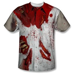 Zombie Rippied Zombie Sublimation Shirt