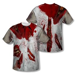 Zombie Rippied Zombie Sublimation Shirt Front/Back Print