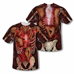 Zombie Skinny Sublimation Shirt Front/Back Print