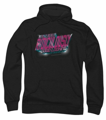 Zoolander Hoodie Sweatshirt Ridiculously Good Looking Black Adult Hoody