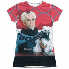 Zoolander Mugatu Sublimation Juniors Shirt