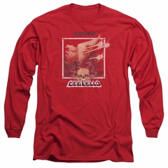 ZZ Top Long Sleeve Shirt Deguello Cover Red Tee T-Shirt