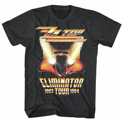 ZZ Top Shirt Eliminator Tour Black T-Shirt