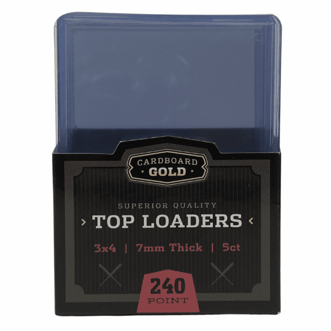 Top-Load 3x4 Card Holder for Super Thick Cards 7mm - 240 Point (Case/250)