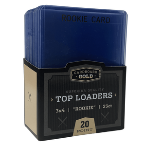 """Top-Loader 3x4 with Rookie """"Gold"""" Imprint (Case/1,000)"""