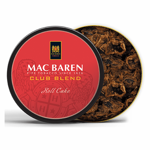 Mac Baren Club Blend Pipe Tobacco - 3.5 oz. Tin