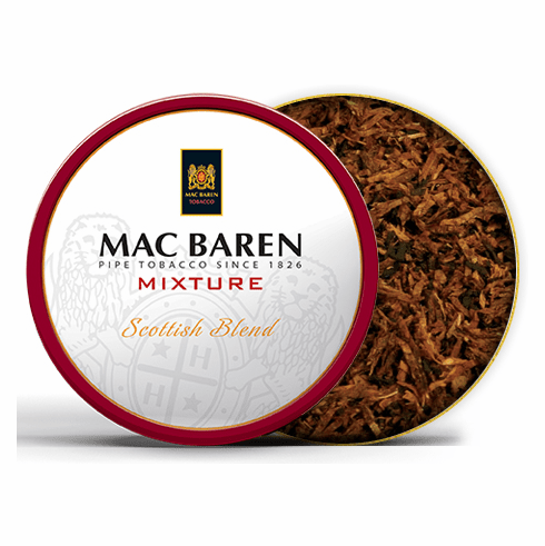 Mac Baren Mixture Scottish Blend Pipe Tobacco - 3.5 oz. Tin