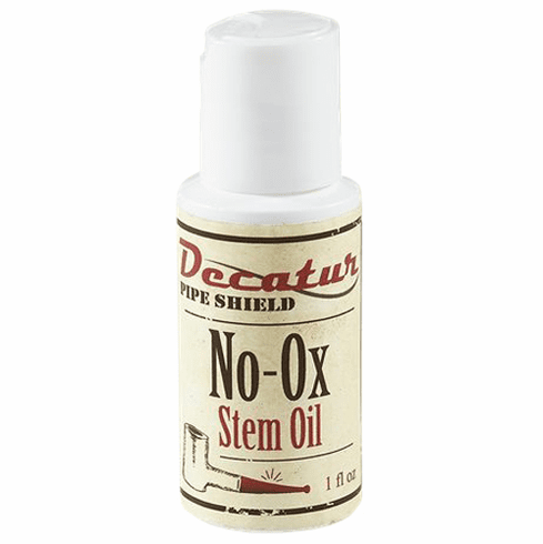 Decatur Pipe Shield No-Ox Stem Oil Protects Vulcanite Stems