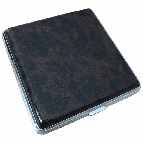 Fujima Regular or King Size Double Sided Crush-Proof Leather Cigarette Case
