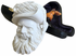 Large Cavalier White Turkish Meerschaum Smoking Pipe