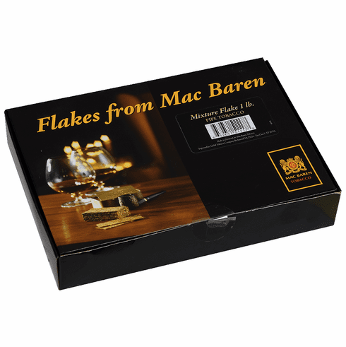 Mac Baren Mixture Scottish Flake Pipe Tobacco - 1 lb Box