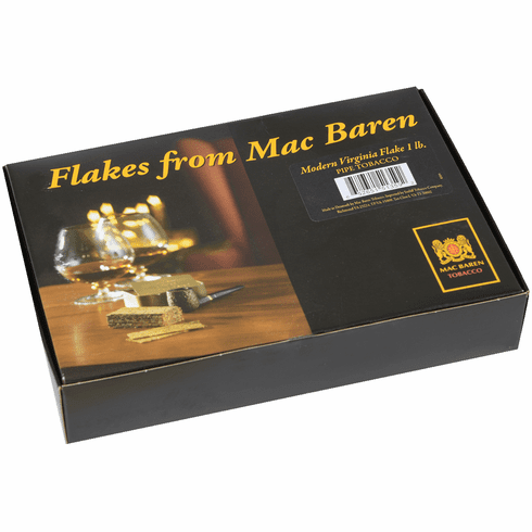 Mac Baren Virginia Flake Pipe Tobacco - 1 lb Box