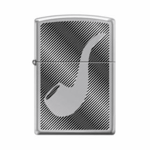 Pipe and Lines Design Zippo Pipe Lighter