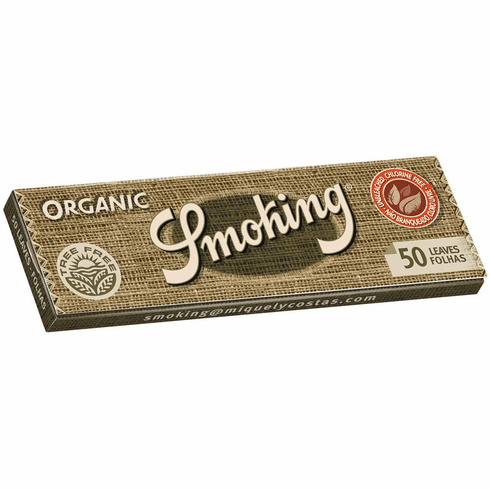 Smoking Organic Tree Free Medium 1-1/4 Roll Your Own Cigarette Rolling Papers