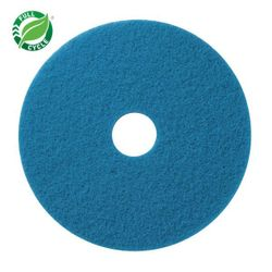 "Facet 20"" Blue Cleaner Pads, 5/cs"