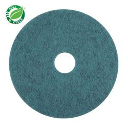 "Facet 20"" Natural Blue Blend UHS Burnishing Pads, 5/cs"