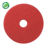 """Facet 20"""" Red Buffing Pads, 5/cs"""