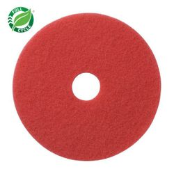 "Facet 20"" Red Buffing Pads, 5/cs"