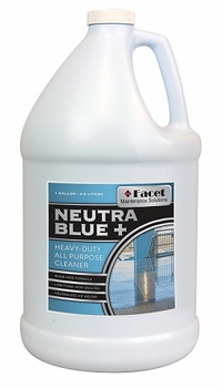Facet Neutra Blue+ All Purpose Cleaner, one-gallon