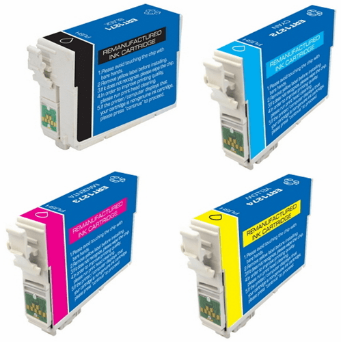 4 Pack 127 Ink Combo - Workforce 60, 630, 633, 635, 645 & Many More