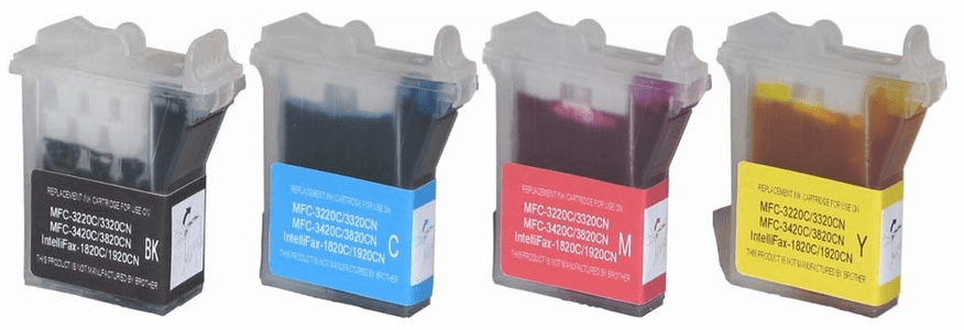 Brother Ink Cartridges - Compatible Replacements