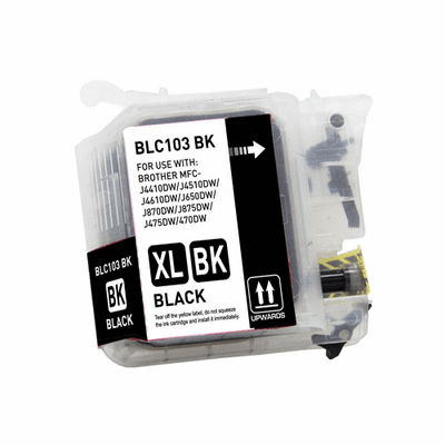 Brother LC103 XL Ink Cartridges - Individual Compatible Replacements