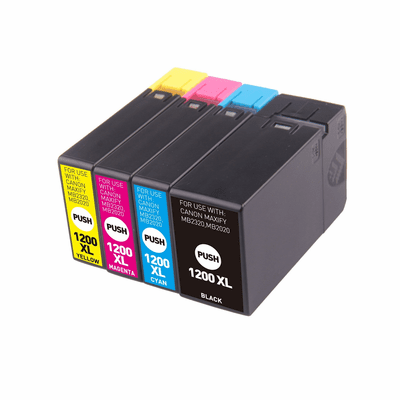 Canon Maxify MB2020 MB2120 MB2320 MB2720 Ink Cartridges Compatible 4 Pack Combo Replacement Set