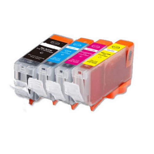Canon PGI-5 & CLI-8 Ink Cartridges - Compatible Brand 4 Pack Combo