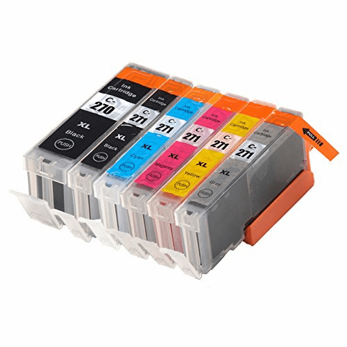 Canon Pixma MG7720 TS8020 TS9020 Compatible Ink Cartridge 6 Pack Combo Set