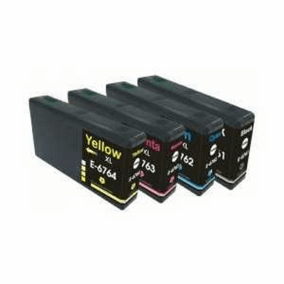 Remanufactured 4 pack Combo for Epson Workforce Pro WP-4520 WP-4530 WP-4540 WP-4590 Compatible brand Ink Cartridges